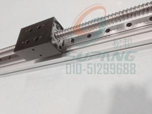 42滚珠丝杆带线轨导轨滑台/带线轨导轨滑动模块有效行程500mm