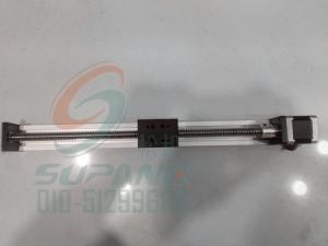 42滚珠丝杆带线轨导轨滑台/带线轨导轨滑动模块有效行程200mm