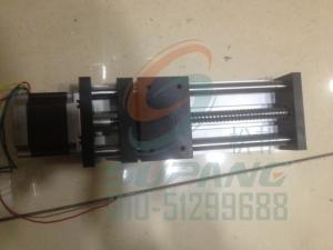 42系列双光轴滚珠丝杆导轨滑台有效行程100双光轴导轨滑台