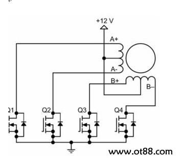 双极性步进电机驱动电路